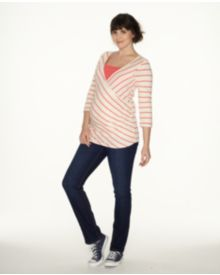 Blooming Marvellous Maternity Under The Bump Dark Wash Straight Jean
