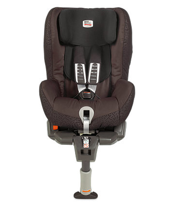 Britax Safefix Plus Car Seat - Black Thunder