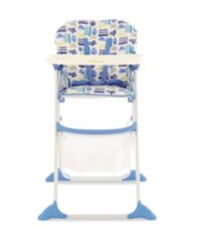 Mothercare High T Highchair - Traffic Jam