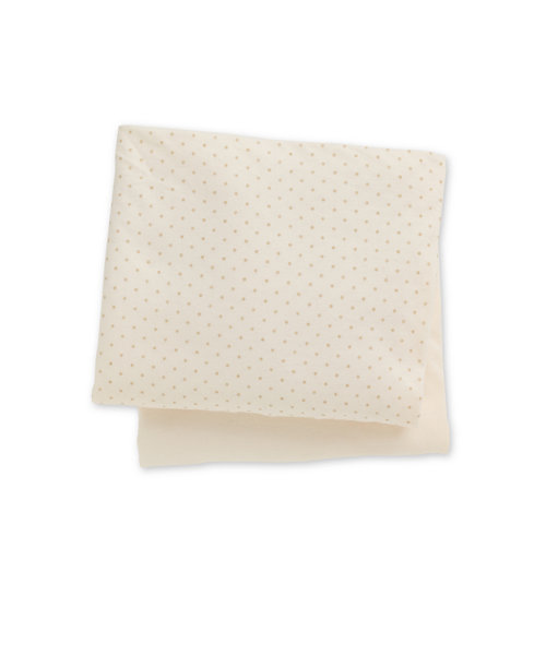 Mothercare Crib Fitted Sheets, Cream - 2 Pack