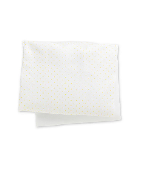 Mothercare Crib Fitted Sheets, Lemon - 2 pack