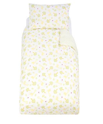 Mothercare Snoozie Safari Pillowcase And Duvet Set