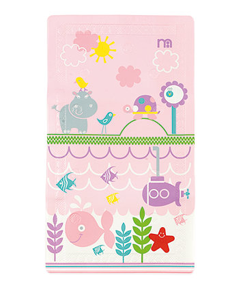 Mothercare Under the Sea Bath Mat - Pink