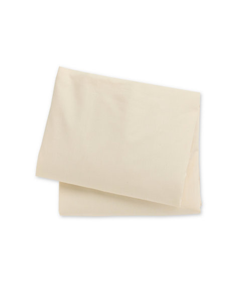 Mothercare Cotton Jersey Fitted Sheets - Cream - 2 Pack