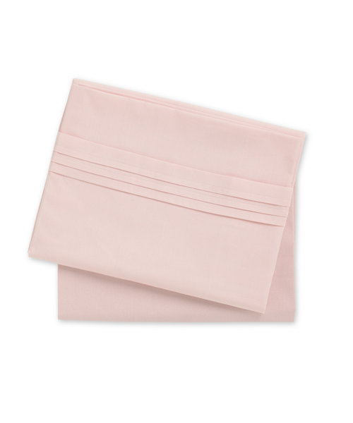 Mothercare Cotton Flat Sheets - Pink - 2 Pack