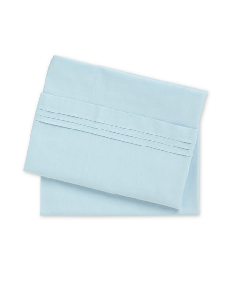 Mothercare Flat Sheets - Blue - 2 Pack