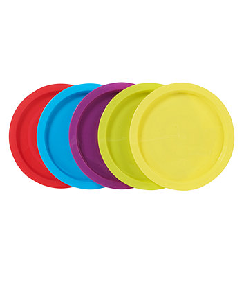 Mothercare My First Weaning Plates - 5 Pack