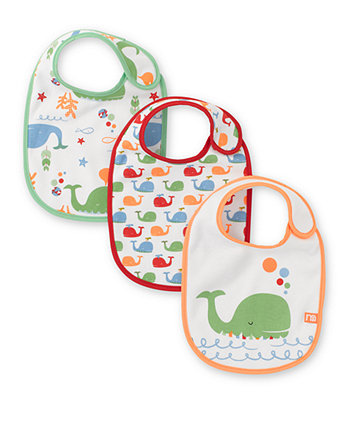 Mothercare Whale Bibs- 3 Pack