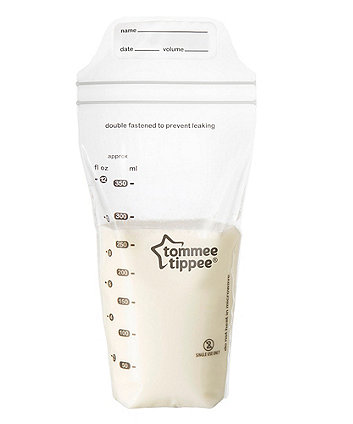 Tommee Tippee Breast Milk Storage Bags - Clear 350ml 36 pack