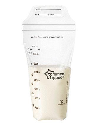 Tommee Tippee Breast Milk Storage Bags - Clear 350ml 36 pack
