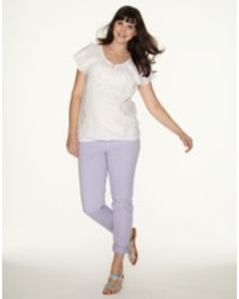 Blooming Marvellous Lilac Coloured Over The Bump Skinny Jeans