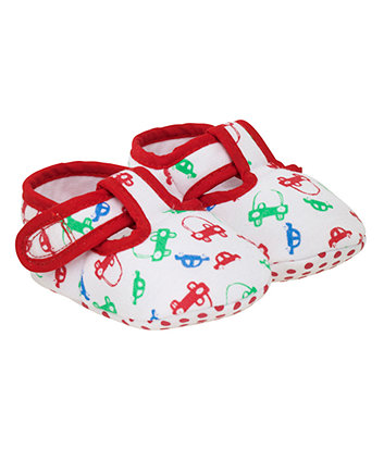 Mothercare Cars Baby Slippers