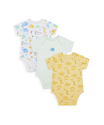 Mummy And Daddy Bodysuits - 3 Pack [SS21]