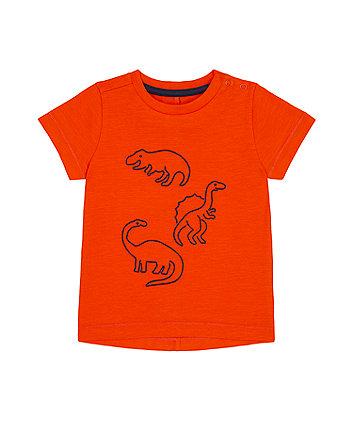 Orange Dino T-Shirt [SS21]