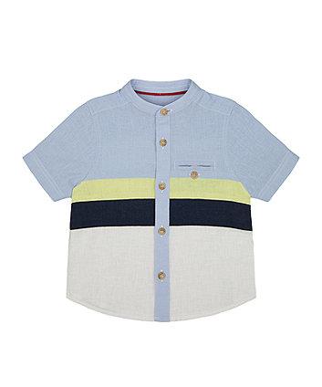 Striped Grandad Shirt [SS21]