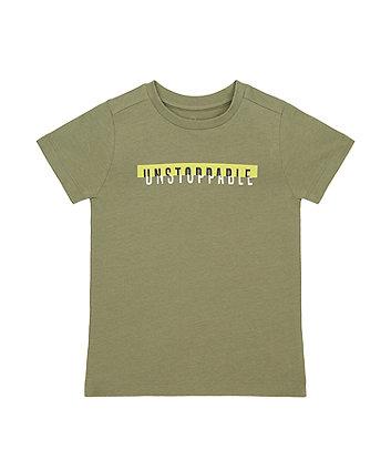 Khaki Unstoppable T-Shirt [SS21]