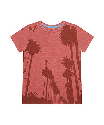Coral Palm Tree T-Shirt [SS21]