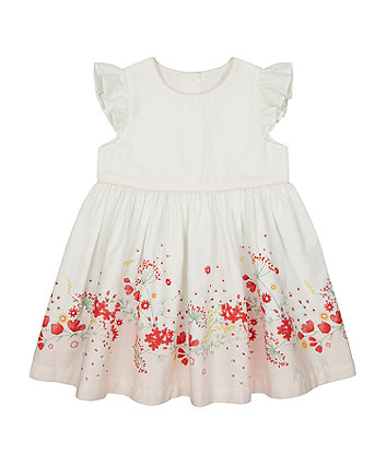 Spring Meadow Border-Print Dress [SS21]
