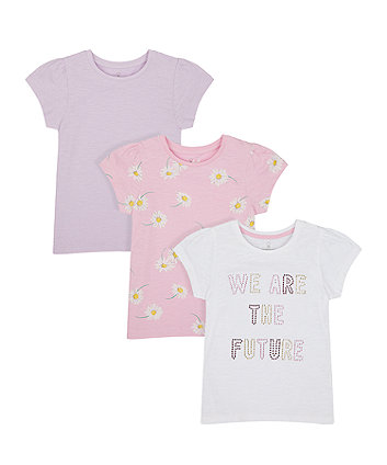 We Are The Future T-Shirts - 3 Pack [SS21]