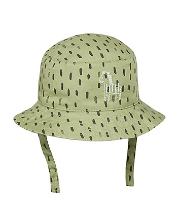 Green Zebra Sun Hat [SS21]