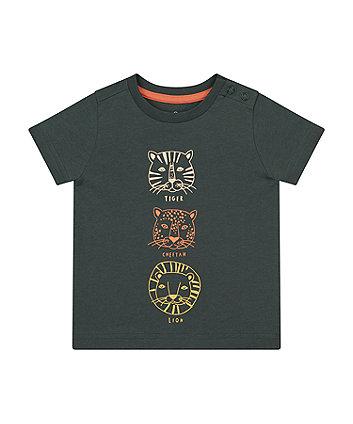 Black Safari Animal T-Shirt [SS21]