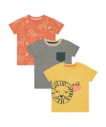 Wild And Free Safari T-Shirts - 3 Pack [SS21]