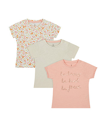 Be Kind T-Shirts - 3 Pack [SS21]