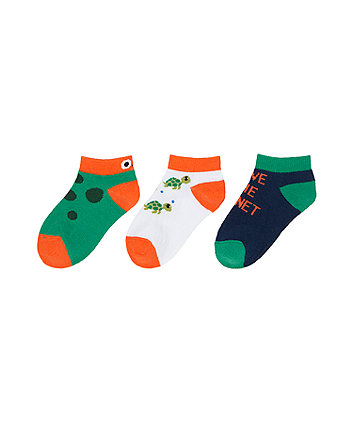 Save The Planet Socks - 3 Pack [SS21]