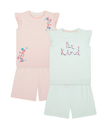 Be Kind Shortie Pyjamas - 2 Pack [SS21]