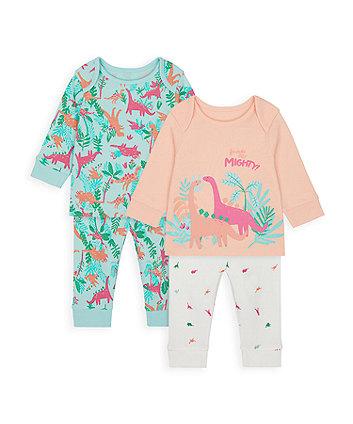 Dinosaur Pyjamas - 2 Pack [SS21]