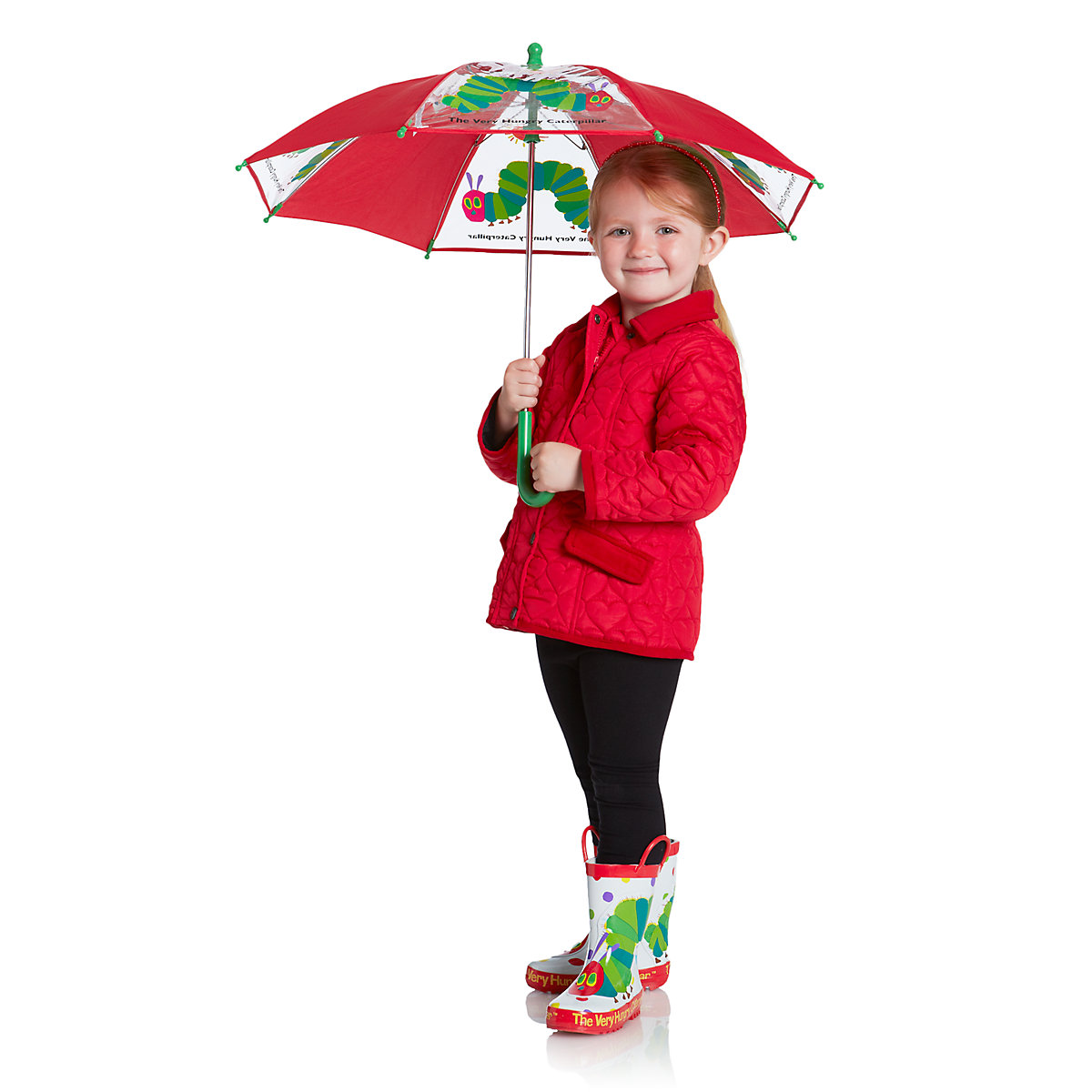 The Very Hungry Caterpillar Umbrella - The Very Hungry Caterpillar Gifts