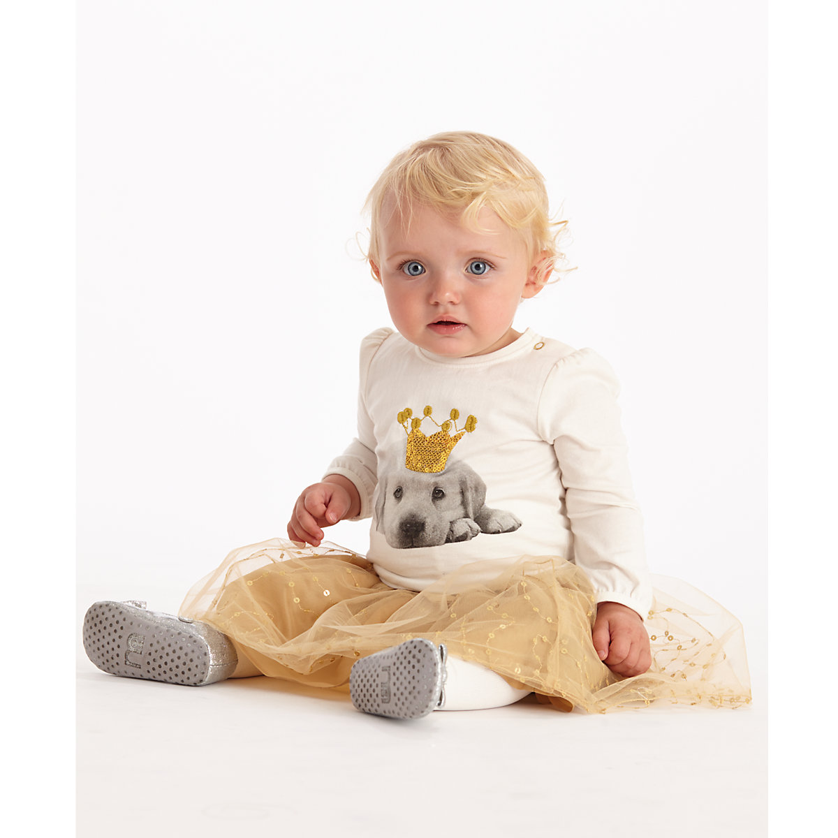 Mothercare Gold Sequin Tutu Skirt - Gold Gifts