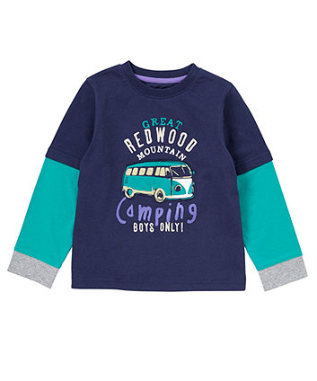 Mothercare Camping Long Sleeve T-Shirt - Camping Gifts
