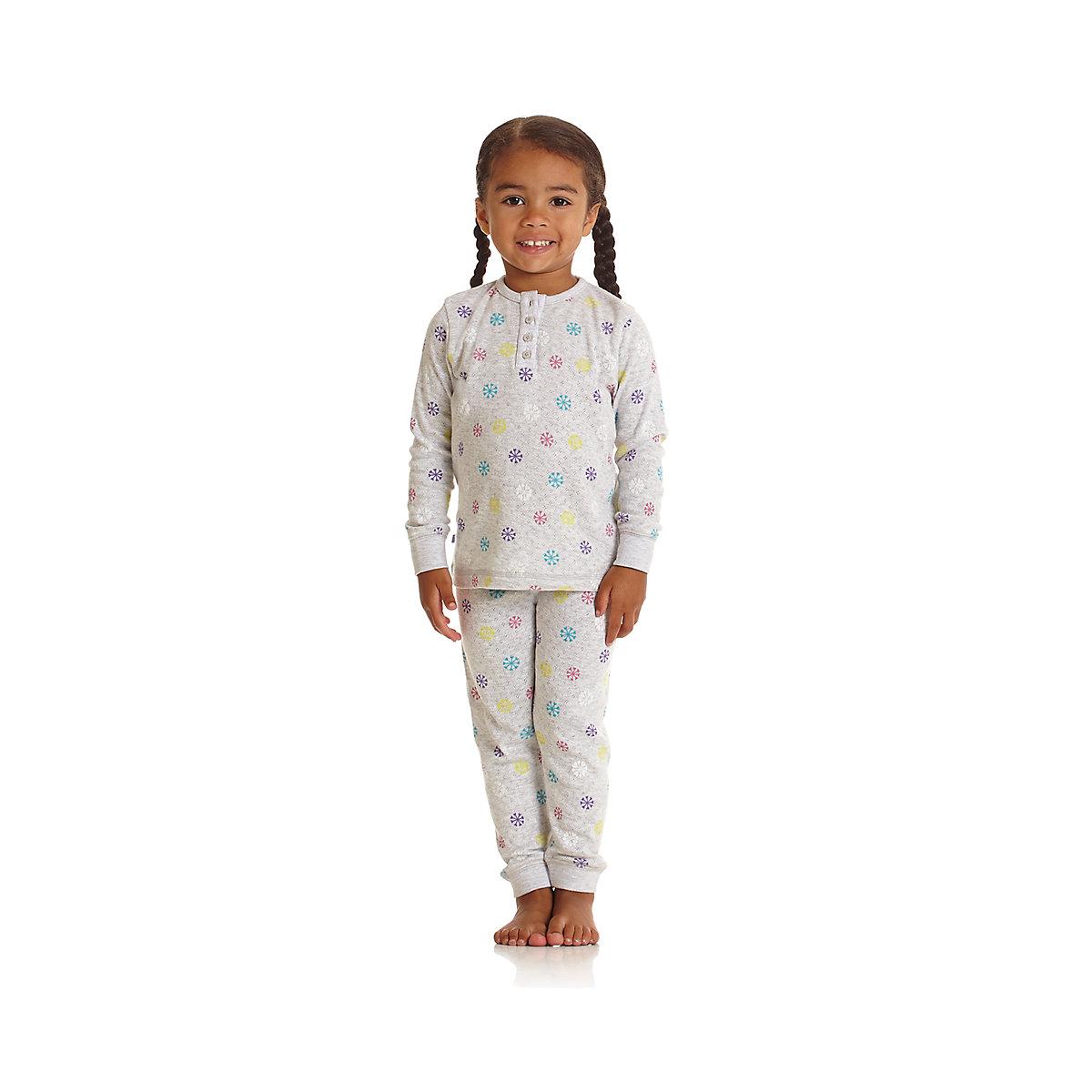 Mothercare Thermal All Over Print Snowflake Pyjama