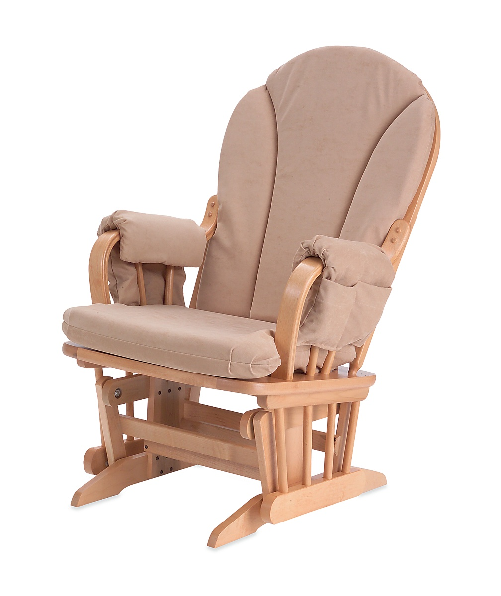 Dutailier babyglide sandy glider rocker chair beech and for Chaise dutailier
