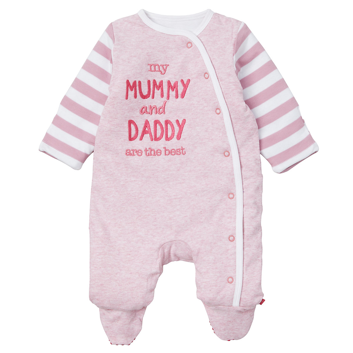 Mothercare Mummy and Daddy Wadded Walk In Sleeper Pink Baby