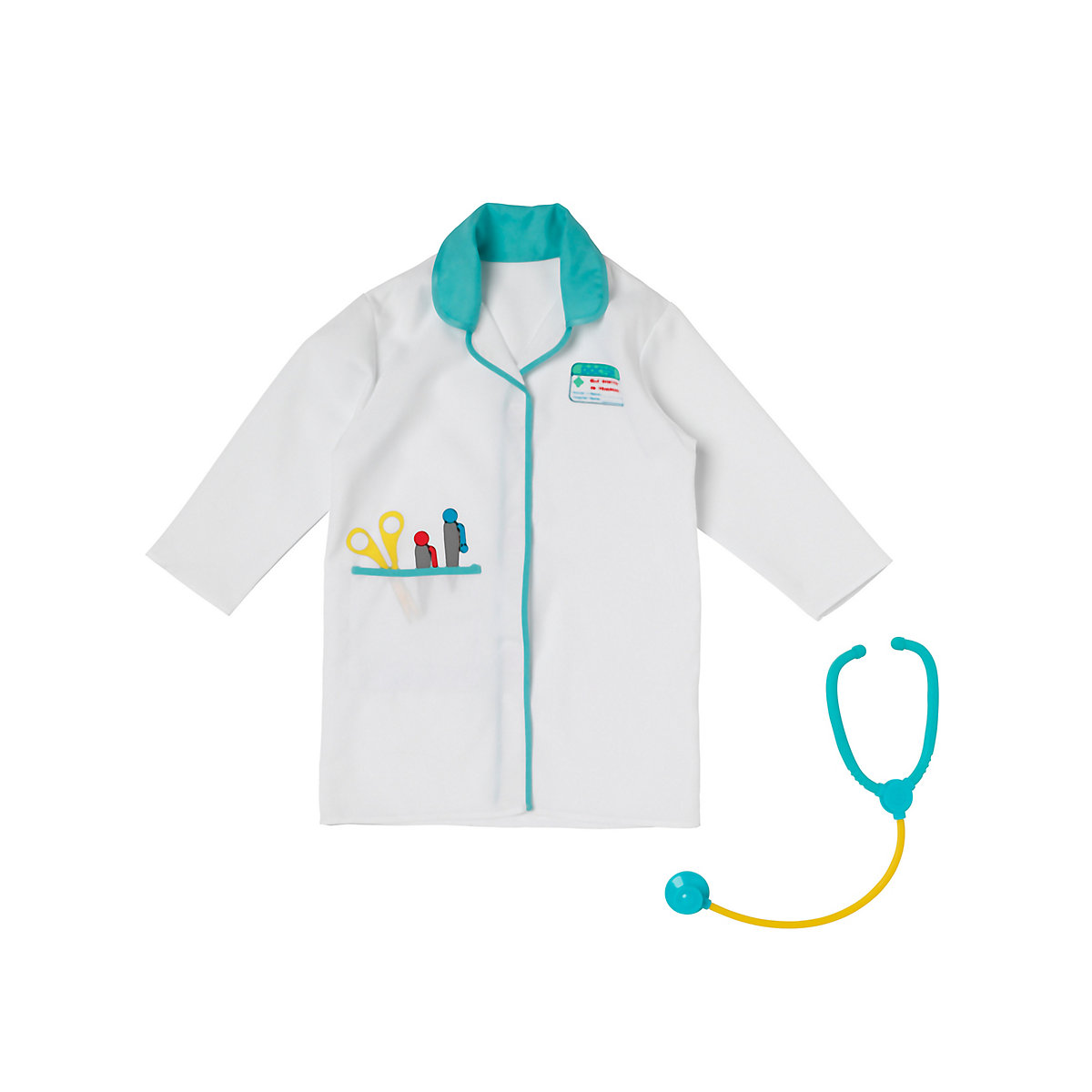 New ELC Boys and Girls Doctor's Outfit Toy From 3 years - Dressing Up Gifts