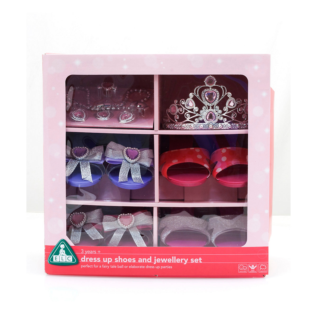 New ELC Girl Magical Mimi Dress Up Shoes and Jewellery Set Toy From 3 years - Dressing Up Gifts