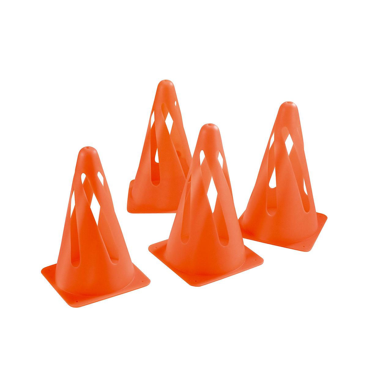 4 Safety Cones