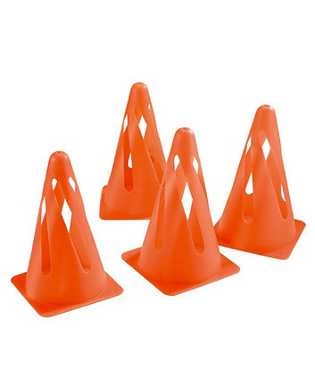 4 Safety Cones