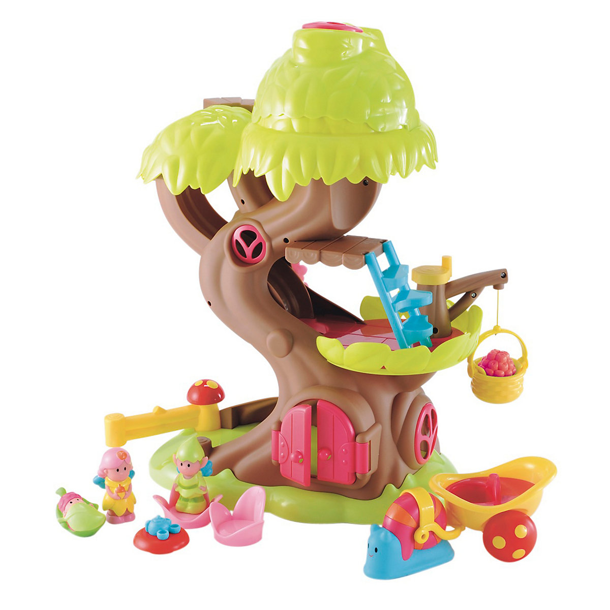 New HappyLand Girl Forest Fairy Treehouse Playset Toy From 18 months - Brands Gifts