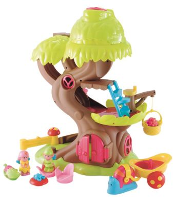 New HappyLand Girl Forest Fairy Treehouse Playset Toy From 18 months