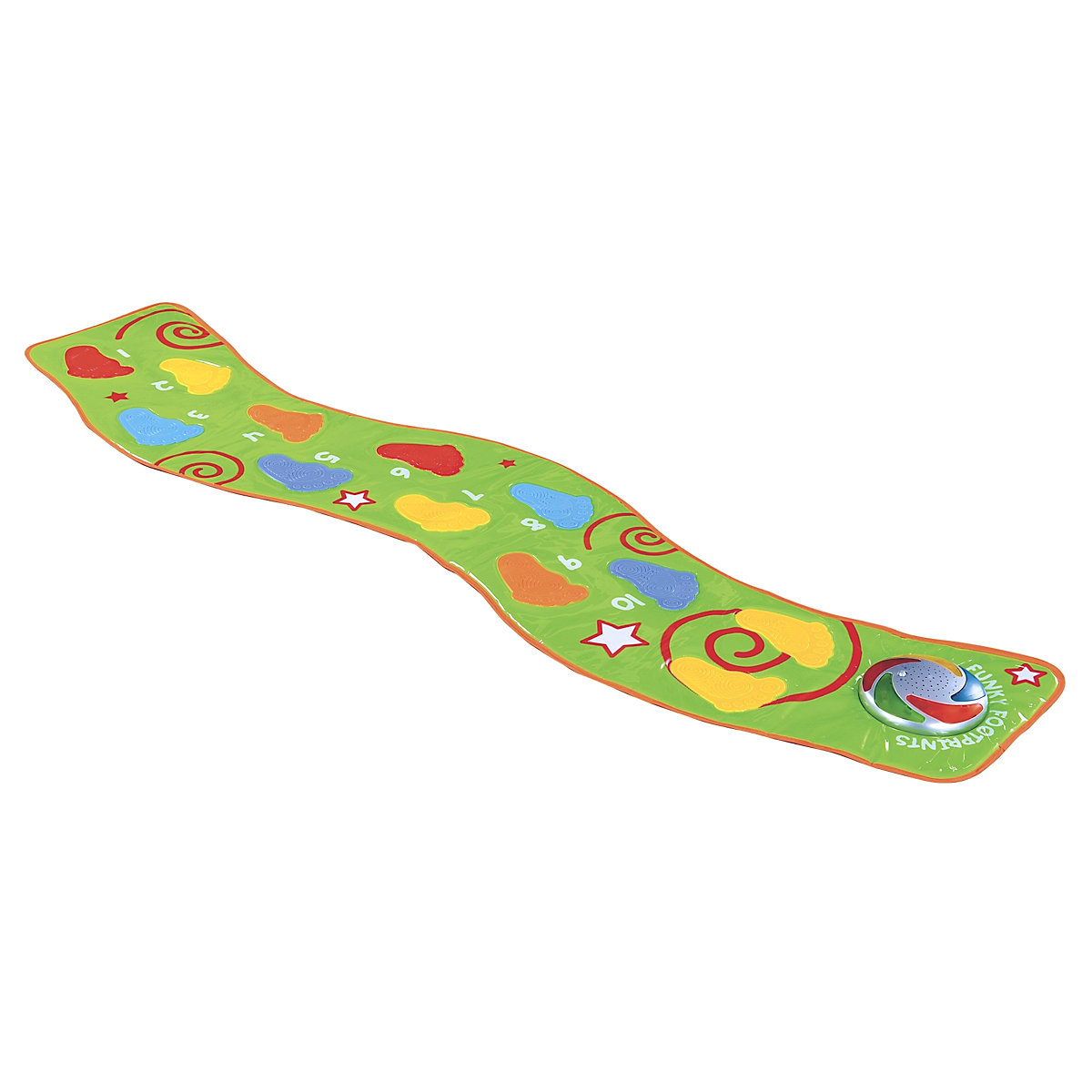 New ELC Boys & Girls Lights & Sounds Funky Footprints Keyboard Toy From 1 year - Keyboard Gifts