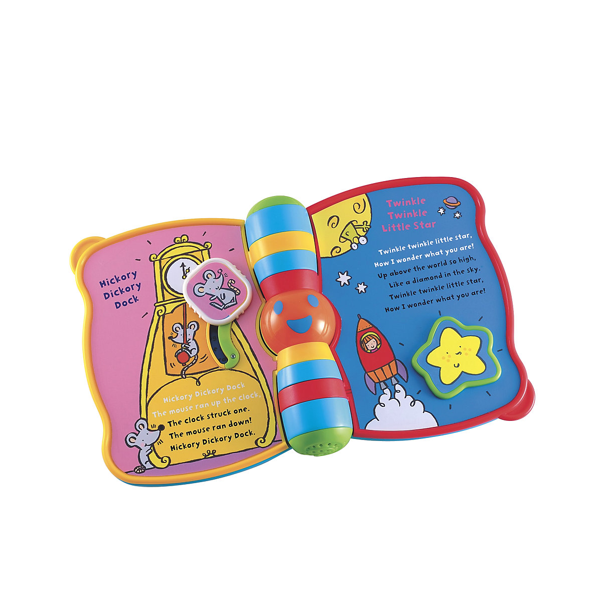 New ELC Boys and Girls Singing Nursery Rhyme Book Toy From 6 months - Nursery Gifts