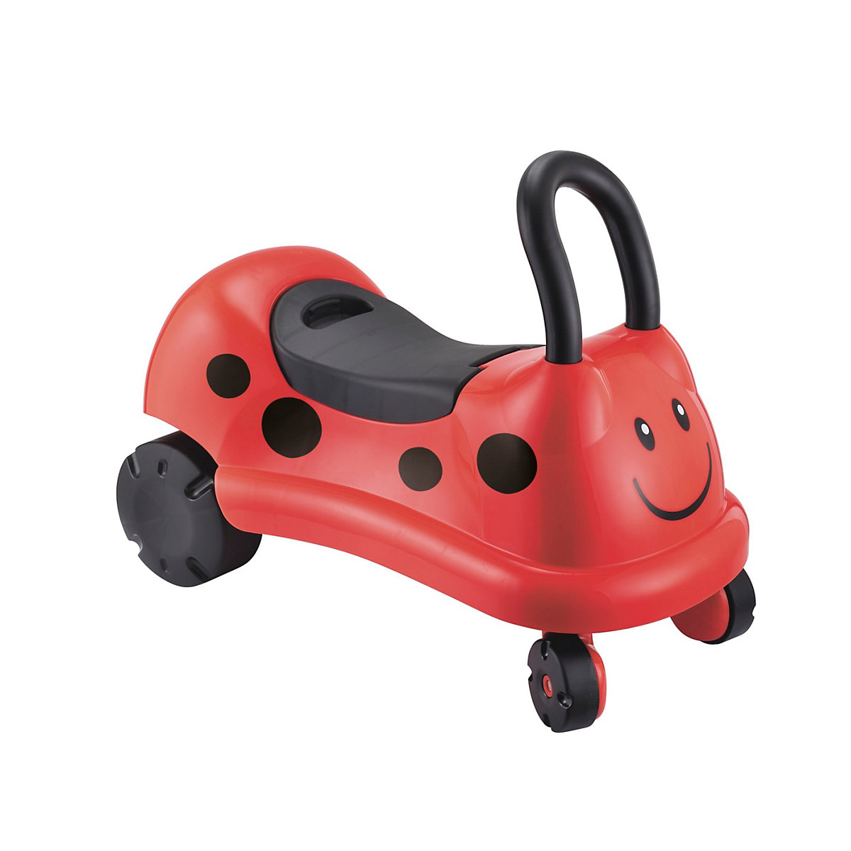 New ELC Boys and Girls Easy Wheels Ladybird Ride On Toy From 1 year - Ride On Gifts