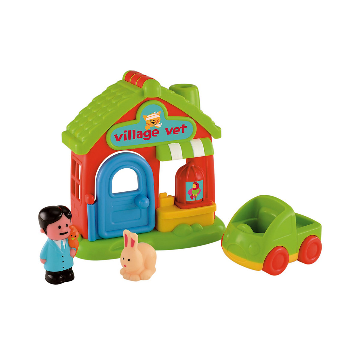New ELC Boys and Girls Happyland Village Vet Toy From 18 months - Toddler Gifts