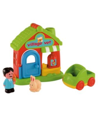 New ELC Boys and Girls Happyland Village Vet Toy From 18 months