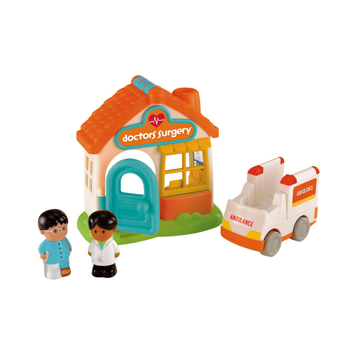 New ELC Boys and Girls Happyland Doctor's Surgery Toy From 18 months - Toddler Gifts