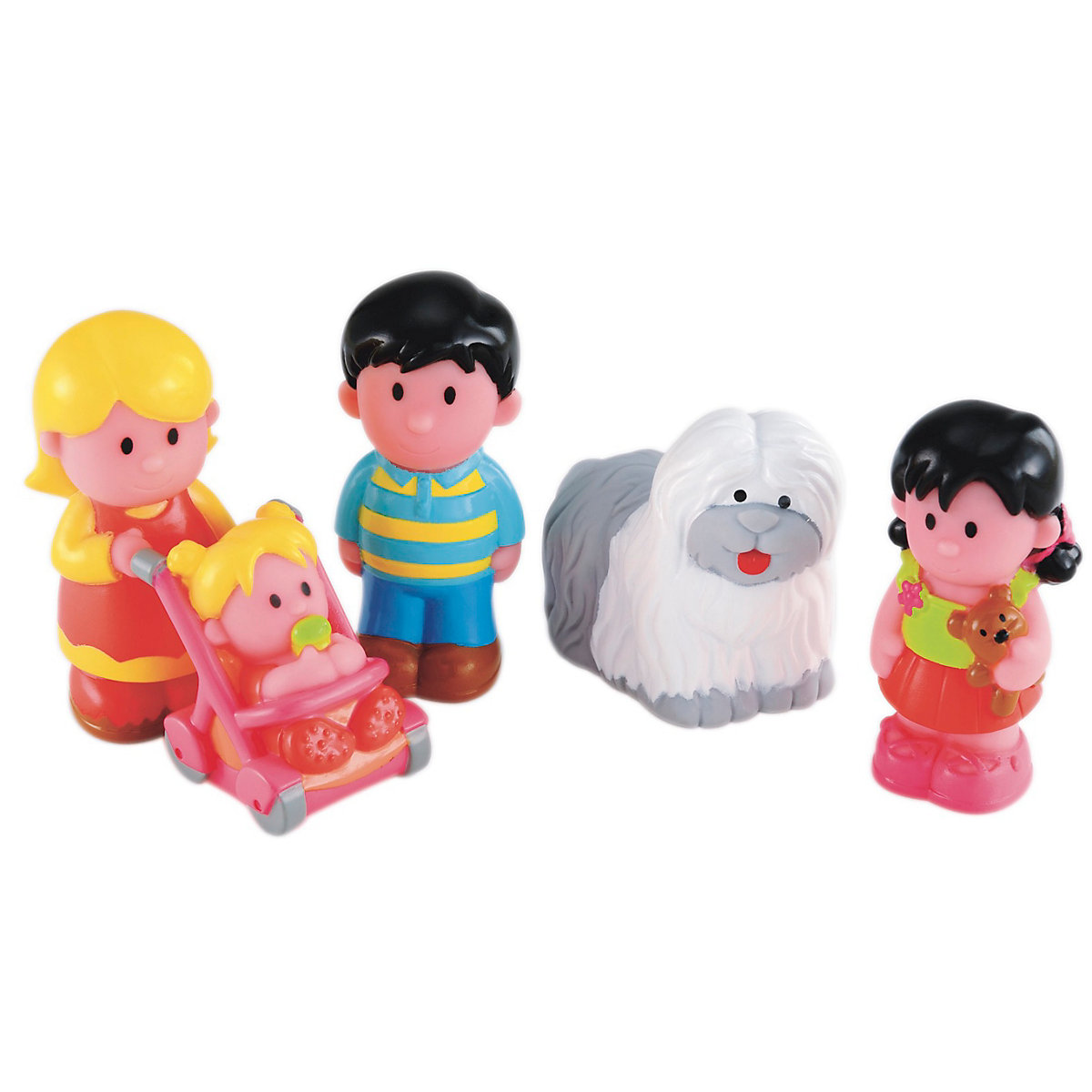 New ELC Boys and Girls Happyland Happy Family Toy From 18 months - Toddler Gifts