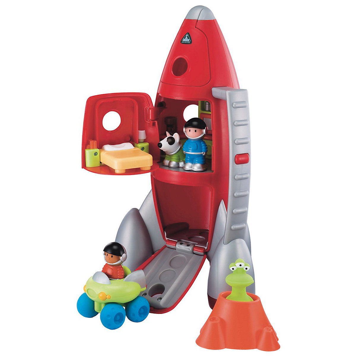 New HappyLand Boys and Girls Lift Off Rocket Playset Toy From 18 months